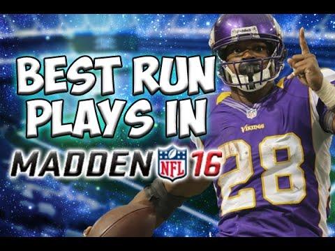 Best option plays madden 16