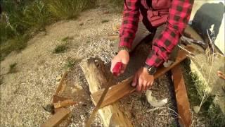Eski kapı tahtalarından kızak yapımı