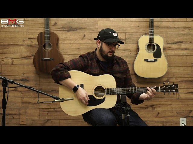 AMI (Sigma) DME Acoustic Guitar Overview