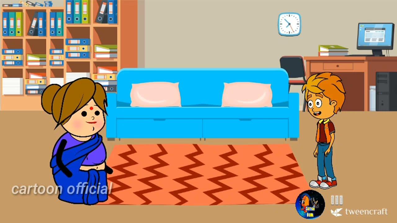 odia cartoon comedy video