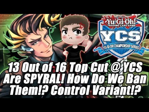 How Do We Ban SPYRALs? 13 SPYRAL in Top 16 at YCS Buenos Aires! Control 1st Place @ Regionals!