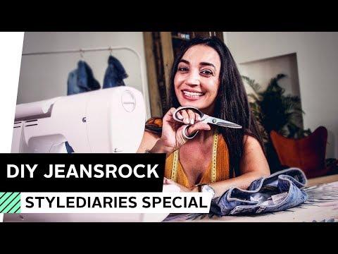 more photos 78f41 b3c7b DIY: Jeansrock aus alter Jeans selber machen | OTTO - YouTube