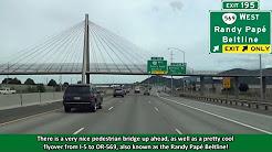 Interstate 5 in Eugene/Springfield, Oregon