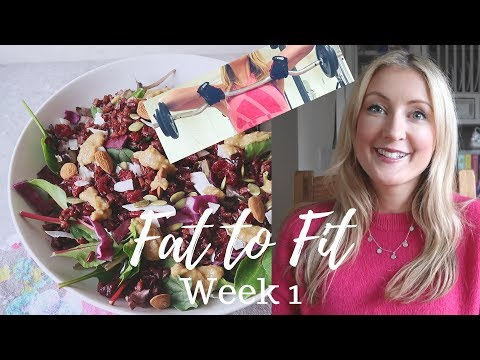 Fat to Fit Week 1 - Chatty ● NO RESTRICTION ● Weights