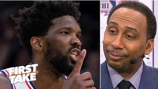 Can Joel Embiid be the best player on a championship team? Stephen A. says no | First Take