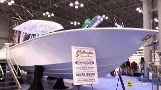 2015 Yellowfin 39 Fishing Boat - Walkaround - 2015 New York Boat Show