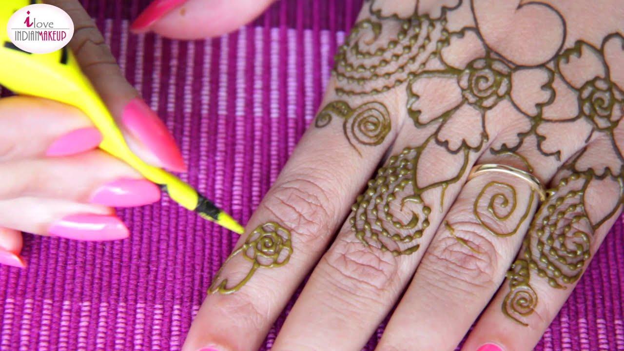 Mehndi Henna Care : 1 diy henna design 2015 mehndi tutorial youtube