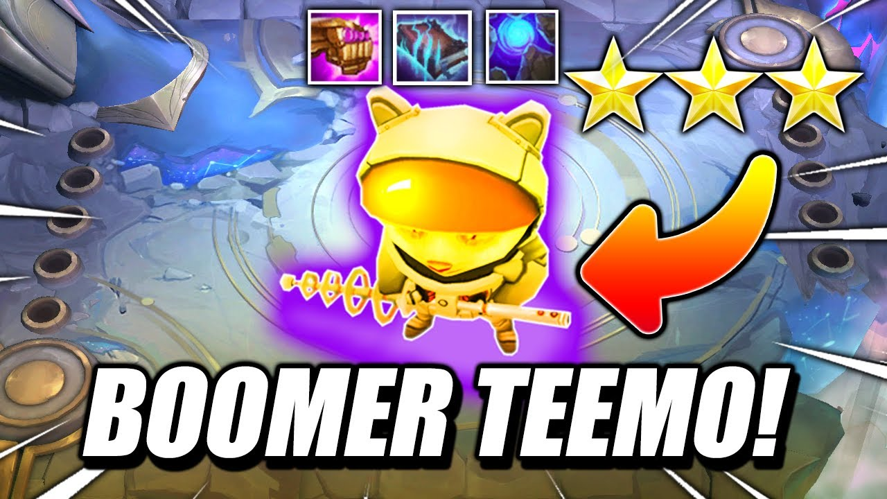 ⭐⭐⭐ TEEMO BOMBS HARD! - TFT Teamfight Tactics 10.16 RANKED Guide Galaxies BEST COMP Strategy SET 3.5