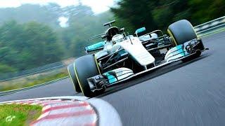 GT Sport - Mercedes F1 Nordschleife - 5:10,879