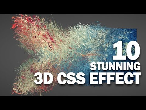 10 Stunning CSS 3D Effect You Must See