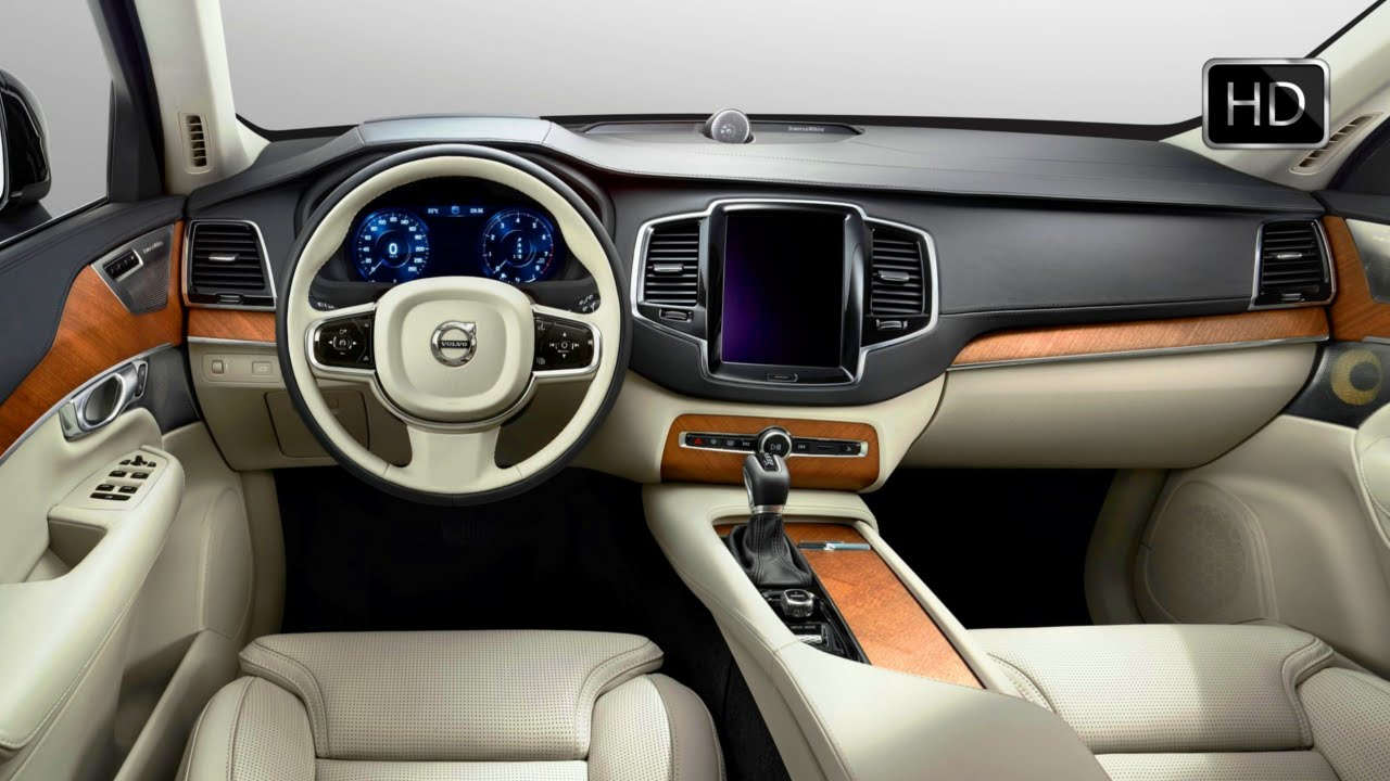 Volvo Excellence Four Seater Suv Luxurious Interior Hd
