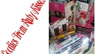 Makeup Goodies From Rubies Kisses/Kiss New York