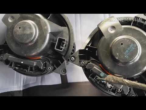 замена вентилятора печки на форде