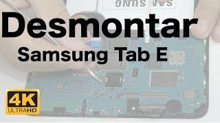 Samsung Tab E T560 Desmontar