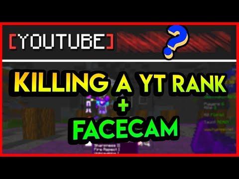 Blitz Survival Games   Killing a YouTube Rank + FACE CAM!