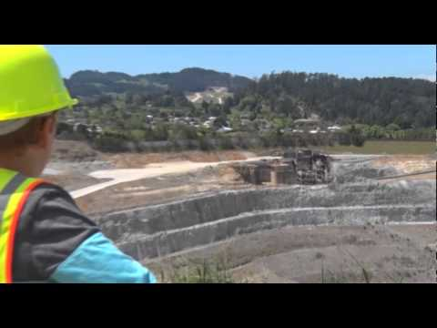 Waihi Gold MIne Tours