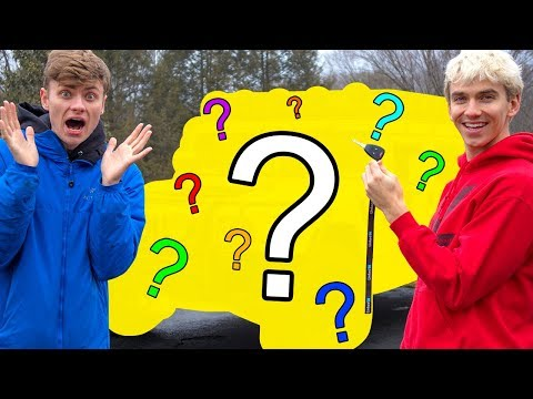 SURPRISING MY BROTHER WITH HIS DREAM CAR!! (HUGE)