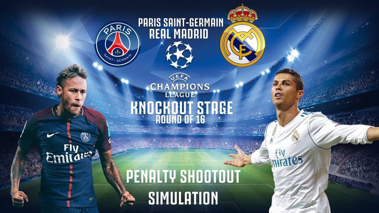 Paris Saint Germain V Real Madrid Ucl Penalty Shootout Pes 2018