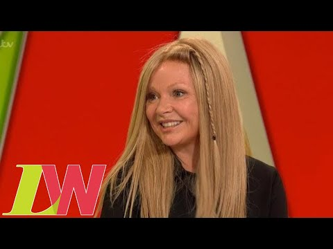 Gail Porter Shows Off Her New Wig After More Than a Decade Battling Alopecia | Loose Women