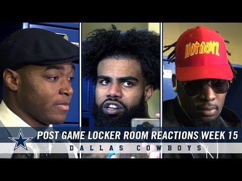 "Dallas Cowboys Post Game Locker Room Reactions: ""Take it And Move On""   Dallas Cowboys 2018"