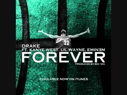 Drake, Kanye West, Lil Wayne, Eminem - Forever (Audio)