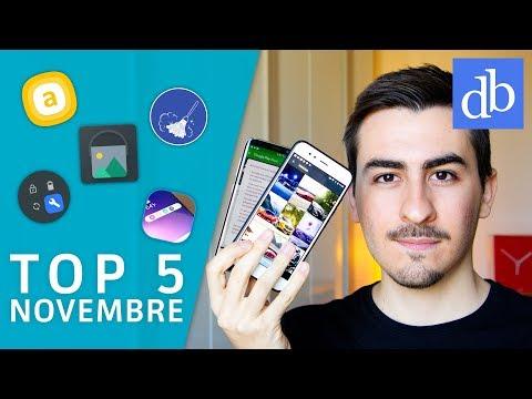 TOP 5 Migliori APP Android | Novembre 2017 | Le migliori per Android! • Ridble