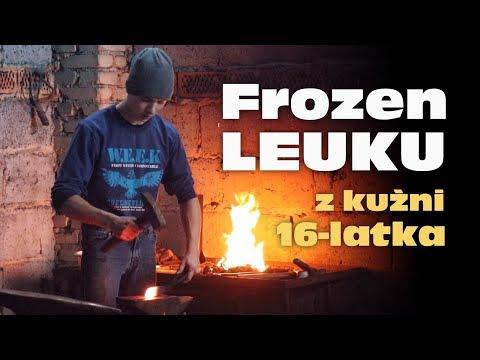 Kuźnia nastoletniego kowala i powstawanie kultowego noża / young blacksmith