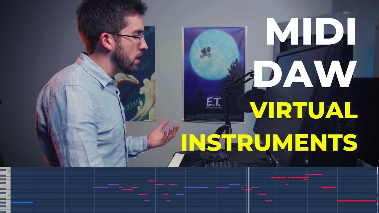 MIDI, DAWS, and VIRTUAL INSTRUMENTS EXPLAINED - Composing