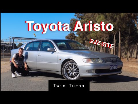 Toyota Aristo Twin Turbo 2JZ Review! The Car That Birthed The Supra Engine!