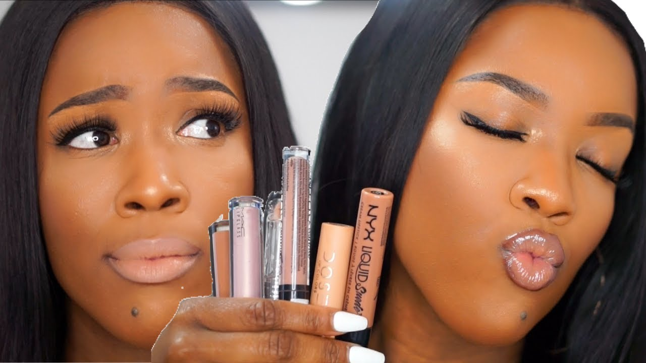 Dark Skin | Copper Eyes & Nude Lip Makeup | Prom Edition