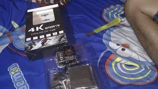 UNBOXSING YICAM 4K SPORTS ULTRA HD DV