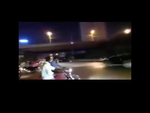 Last race babu 7t accident video