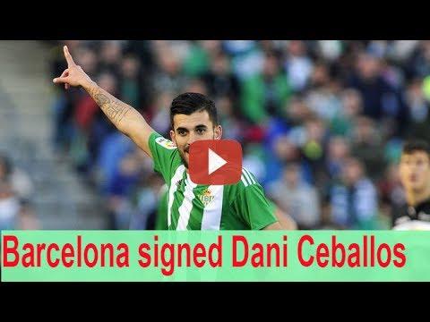 Barcelona Enter Race To Sign Dani Ceballos