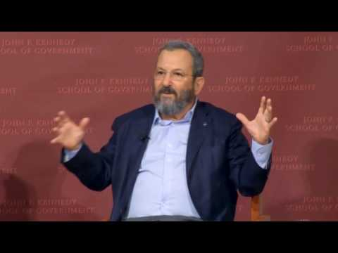 Ehud Barak on What Americans Don't Understand