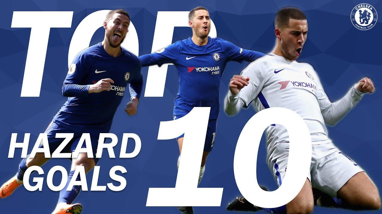 TOP 10: Eden Hazard Goals