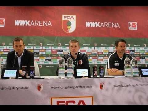 16/17 // Interviews & PK // FCA punktet gegen Schalke