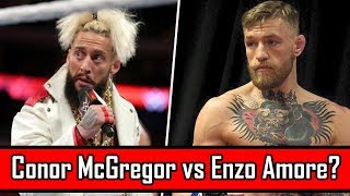 Revealed: Why Enzo Amore Is Threatening To Knock Out Conor Mcgregor!