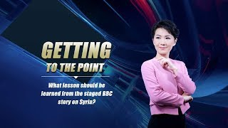 Getting to the Point: What lesson should be learned from the staged BBC story on Syria?