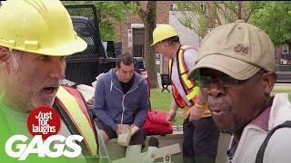 Best of Construction Pranks Vol. 2   Just For Laughs Compilation