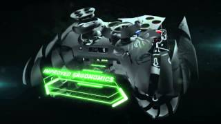 The Razer Sabertooth gaming controller for the Xbox 360 PC