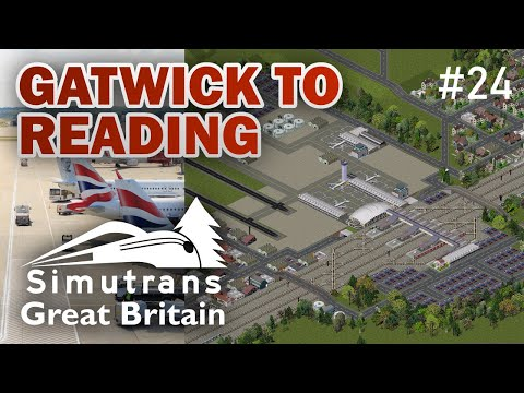 Gatwick to Reading: GB in Simutrans episode 24
