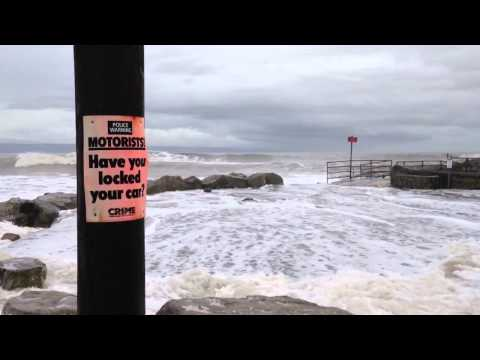 Storm Surge in Llantwit Major