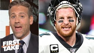 Carson Wentz doesn't inspire the Eagles' defense like Nick Foles did - Max Kellerman | First Take