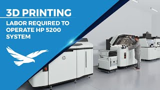 Labor Required to Operate the HP 5200 3D Printing System