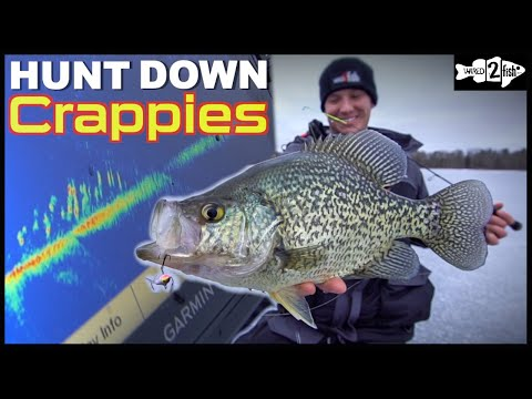 Ice Fishing GIANT Crappies: Find Fish Others Are Missing