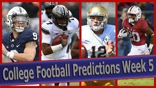College Football Predictions Week 5