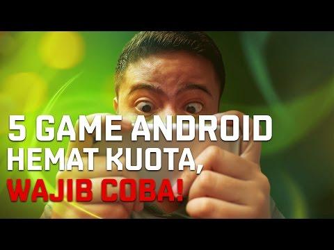 5 GAME ANDROID HEMAT KUOTA!