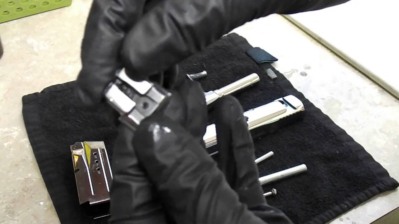 Smith Wesson MP Mirror Polishing Ryan Burick