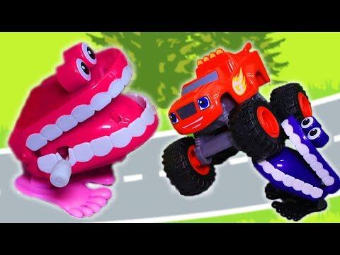 Вспыш и чудо машинки: Мультики с игрушками – Зубастики Крушилы. Мультфильмы