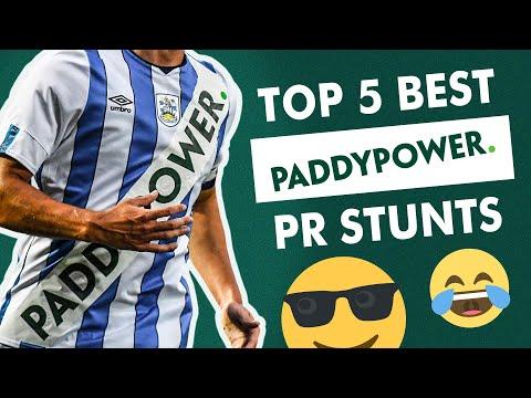 Top 5 best Paddy Power PR stunts